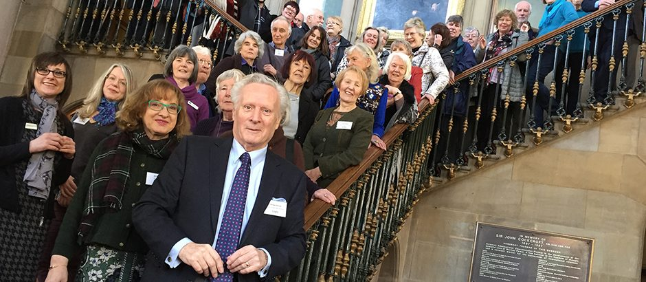 BAFM Delegates at the North East Regional Day, Todmorden Town Hall, 2018