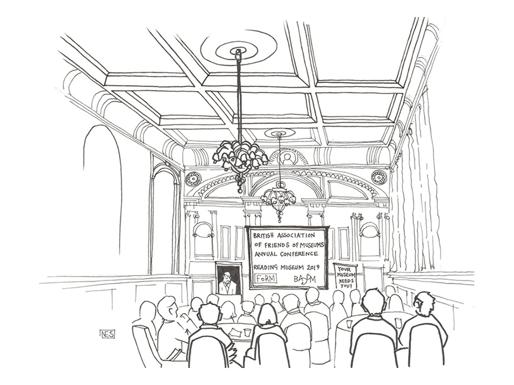 BAFM National Conference, Illustration by Nicola Schofield